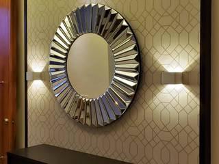Casual Chic Modern Corridor, Hallway and Staircase by Geraldine Oliva Modern