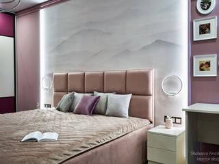 Проект для заказчика на коляске Спальня в эклектичном стиле от Shabaeva_design Эклектичный