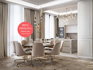 ЖК Реномэ Кухня в классическом стиле от Студия Дизайна Ирины Фефеловой Классический
