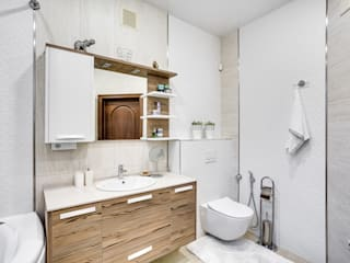 Eclectic style bathroom by АрДиПроект Eclectic