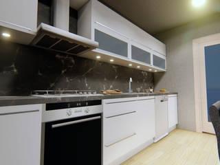 Mutfak Tasarımı Çizgi Mimarlık & Dekorasyon San. ve Tic. Ltd. Şti. Modern