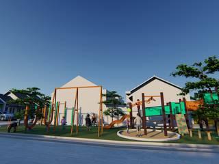 Permata Green Park Fastetika Architecture Ruang Komersial Minimalis