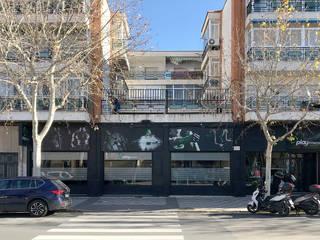 GIMNASIO PFSC. Albacete. Gimnasios domésticos de estilo moderno de studioLARQ - Luis Portero, arquitecto - ARQUITECTURA | INTERIORISMO Moderno