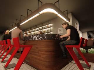 Hotel Rooftop Restaurant & Bar Modern Bar & Kulüpler Çizgi Mimarlık & Dekorasyon San. ve Tic. Ltd. Şti. Modern