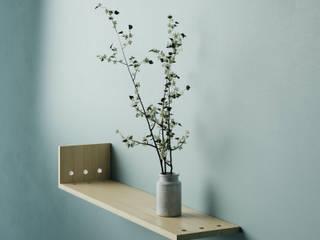 NKX: WOOD SHELF FEIT HouseholdAccessories & decoration Solid Wood Wood effect