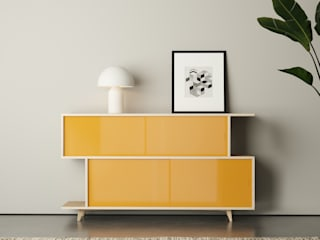 S*2 SIDEBOARD FEIT HouseholdAccessories & decoration Solid Wood