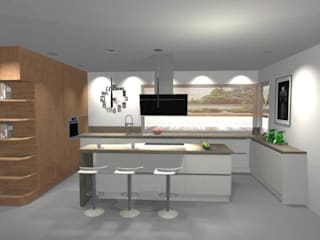 Projekt kuchni od Studio Mebli Kuchennych Villa Project Nowoczesny