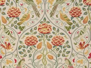 Carta da parati Art Nouveau Pareti & Pavimenti in stile classico di Carta da parati degli anni 70 Classico