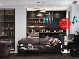 Итальянская квартира Гостиная в классическом стиле от Студия Дизайна Ирины Фефеловой Классический