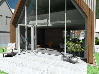 schuurwoning // Assendelft van Studio FLORIS Modern