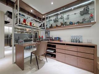 你你空間設計 Study/office Brown