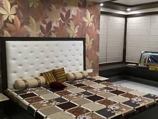 Farooqui Mansion (Bedrooms) Minimalist bedroom by Kathkarma Interior Designers & Space planners Minimalist