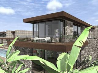 Casa Mussulo por Arqsize Minimalista
