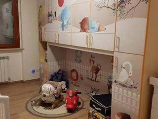 HOME & INTERIORS MONDOSTICKERS Stanza dei bambiniArmadi & Cassettiere PVC
