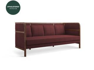Crockford Sofa por WOOD TAILORS CLUB Rústico