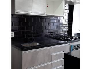 Limpeza pós-obra Cozinhas modernas por O SOS DA MULHER Moderno