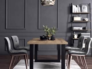KionHome Dining roomTables Chipboard Black