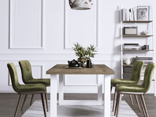 KionHome Dining roomTables Chipboard Wood effect