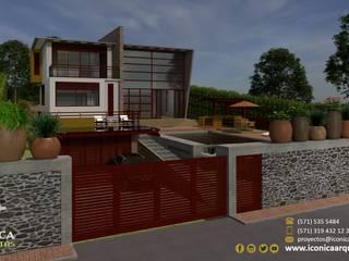 CASA YASHIR Casas modernas de Icónica Arquitectos Moderno
