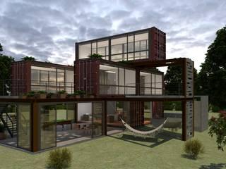 Container Home de Icónica Arquitectos Moderno