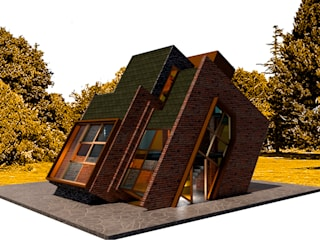 Cabaña SPITI de Icónica Arquitectos Moderno