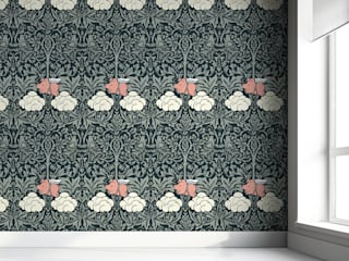 'Morris Dream' Bedroom wallpaper by Young & Battaglia van Mineheart Eclectisch