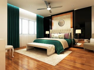 Modern style bedroom by Enviz Interior & Renovation Modern