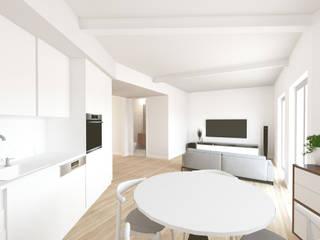 Minimalist dining room by MERA ATELIER Minimalist