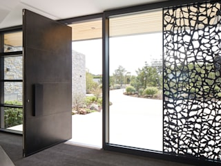 Bronze Front Doors by Urban Front Modern