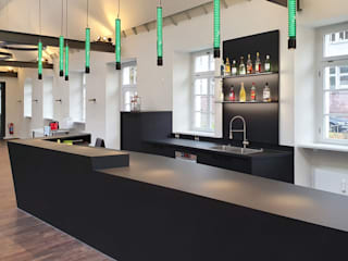 Espaços de restauração modernos por Hammer & Margrander Interior GmbH Moderno