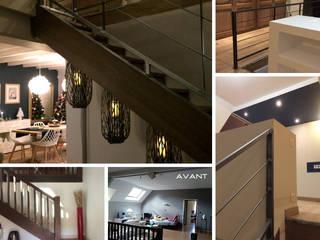 VALERIE BARTHE AiC Escaleras Hierro/Acero Acabado en madera