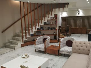 'A' DESIGN ASSOCIATES Modern Living Room