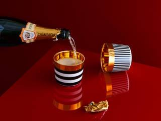 Champagnerbecher Sip of Gold von SIEGER by FÜRSTENBERG: modern  von sieger design GmbH & Co. KG,Modern