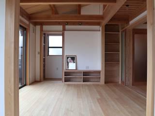 大府の家 和風デザインの リビング の オダ工務店株式会社 和風
