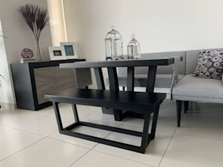 Modern dining room by Argento muebles Modern