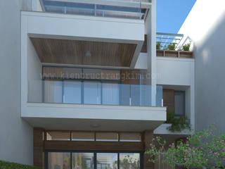 Mẫu biệt thự 3 tầng mái bằng hiện đại đẹp hút hồn bởi Kiến trúc Trang Kim Hiện đại