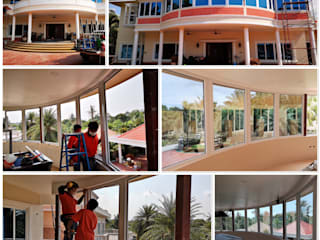 ร้าน ชัยดล ยูพีวีซี พัทยา ประตู - หน้าต่าง upvc Windows & doors Windows Plastic White
