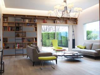 Annecy maison Salon moderne par DAI Création Moderne