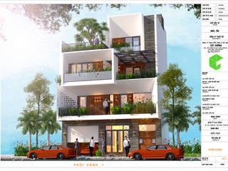 Công Ty TNHH Kiến Trúc Và Xây Dựng Cát Dương Hoteles Concreto reforzado Blanco