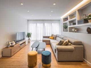Vivienda Casa Alemania Salones de estilo moderno de Destudio Arquitectura Moderno