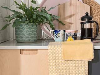 Balcombe, Sussex Kitchen - Custom Birch Ply & Formica Kitchen Matt Antrobus Design