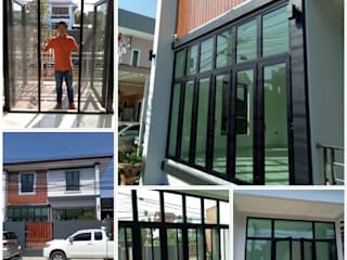 ร้าน ชัยดล ยูพีวีซี พัทยา ประตู - หน้าต่าง upvc 窗戶與門門 塑膠 Black