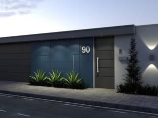 Projetos Completos de Casas de Alto Padrão Casas modernas por ARQUITETOS POR HORA Moderno