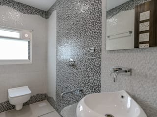 Interior at Sankeshwar, Karnataka Minimalist bathroom by A B Design Studio Minimalist