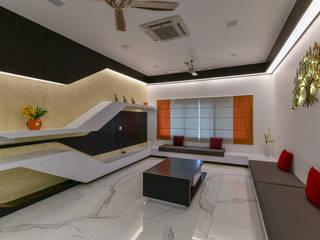 Modern Multimedya Odası A B Design Studio Modern