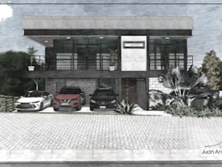 Juan Jurado Arquitetura & Engenharia Maisons mitoyennes Fer / Acier