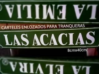 CARTELESENLOZADOS.COM.AR JardínMuros y vallas Azulejos Verde