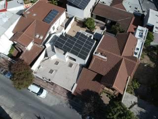 KB Solar Terrazas en el techo Vidrio Azul