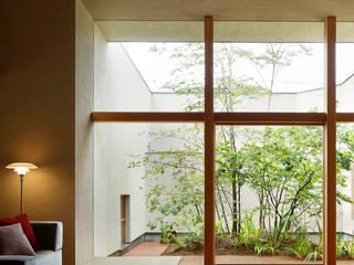 長泉町の家 オリジナルな 庭 の 永松淳建築事務所 オリジナル