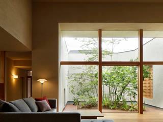 長泉町の家 オリジナルデザインの リビング の 永松淳建築事務所 オリジナル